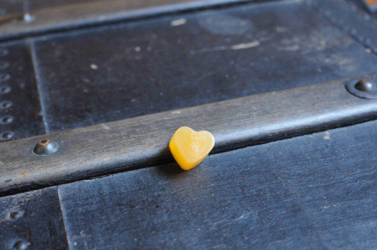 Bonbon carotte mini coeur seul