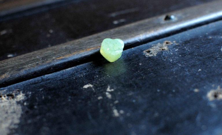 Bonbon courgette coeur seul